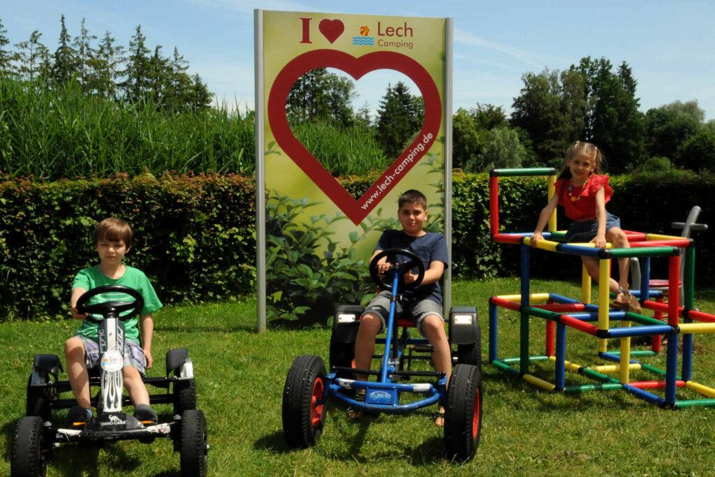 Lech-Camping-Kinder-Spielplatz